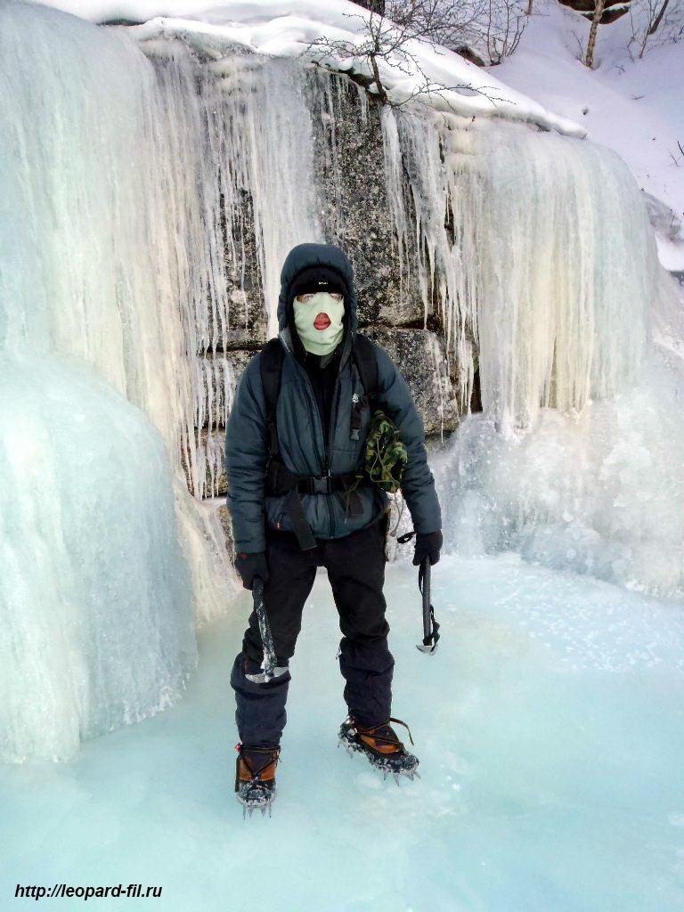 Типы льда в горных маршрутах и его образование
