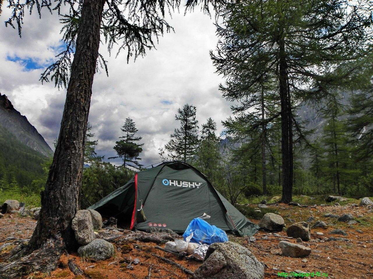 Обзор палатки Husky Falkon