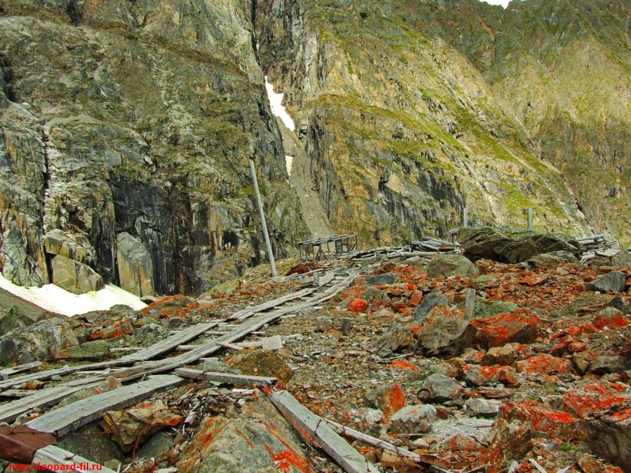 Мраморное ущелье: опасность работы в штольнях