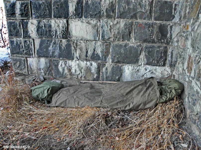 Ночёвки без палатки в небольшом походе по КБЖД