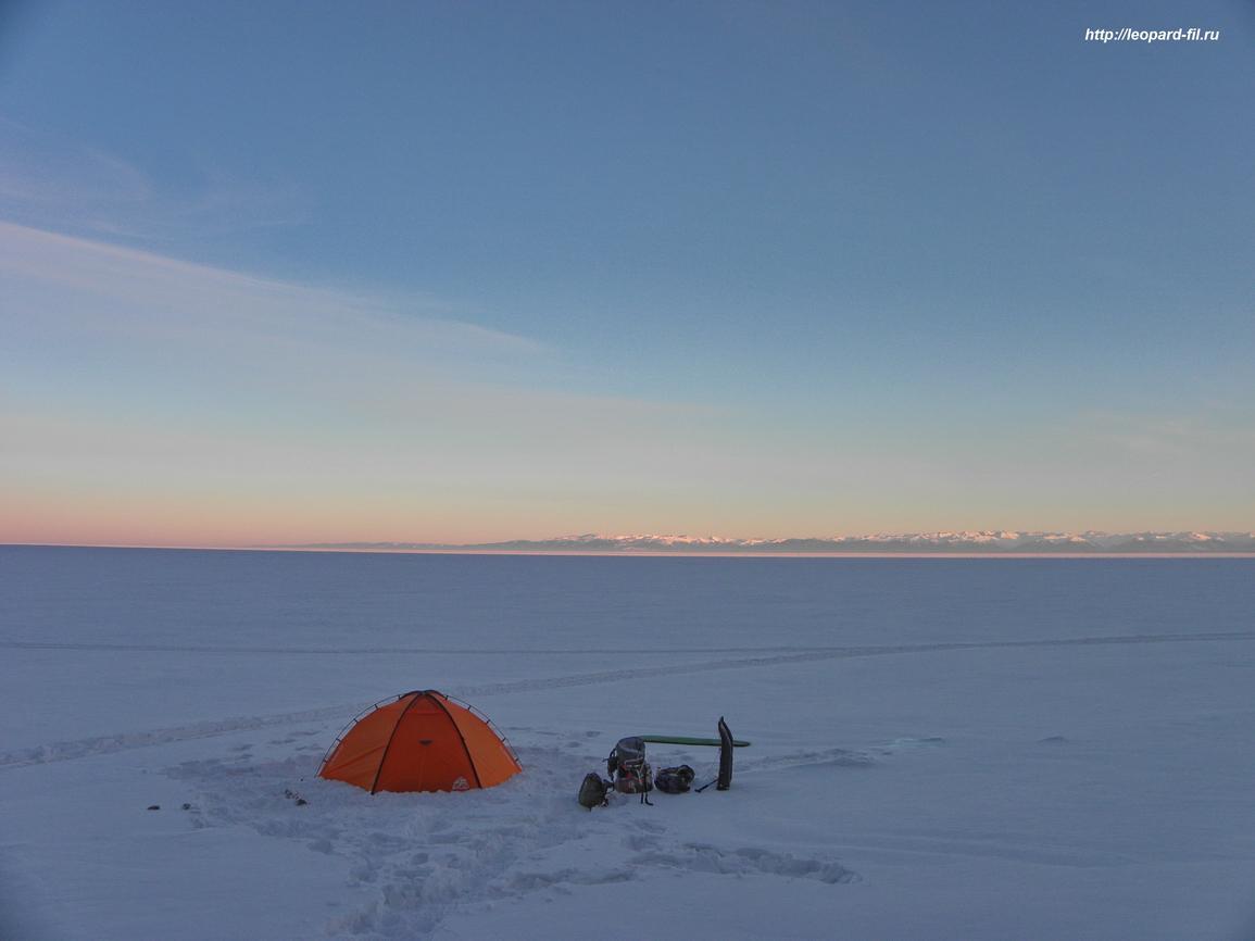 красивая палатка...