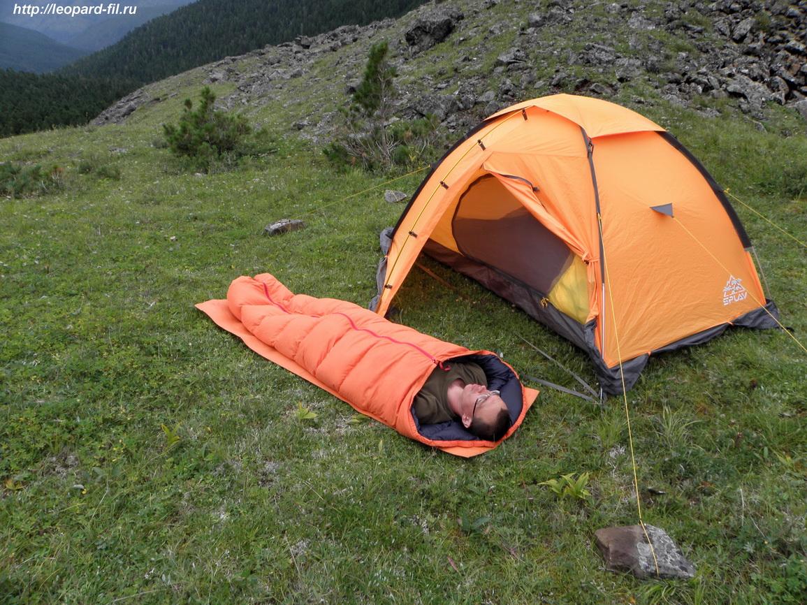 Подробный обзор (отзыв) летнего пухового спального мешка от Сергея Бажанова