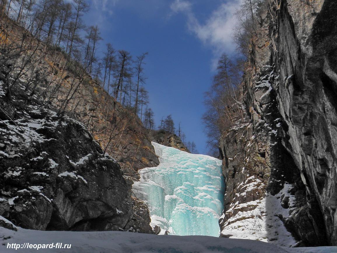 Водопад ручья Шаньга, хребет Кодар