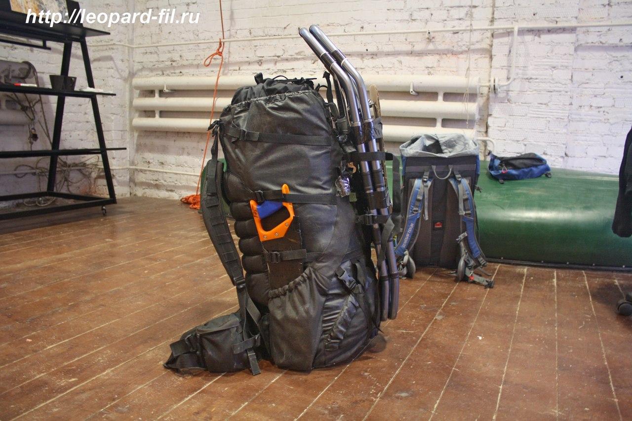 Вес рюкзака в одиночном ходовом походе