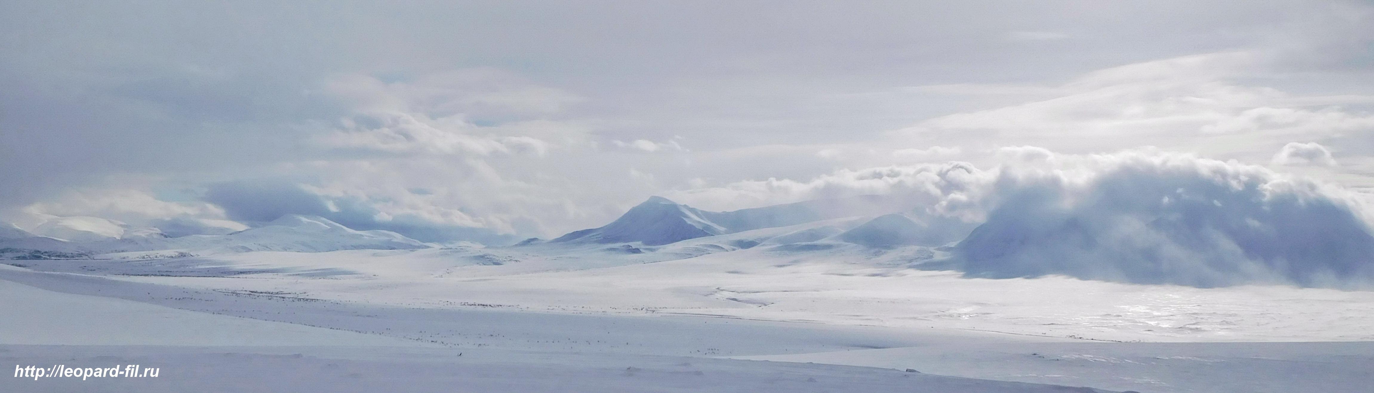 Рассказ об одиночном лыжном походе на Полярный Урал