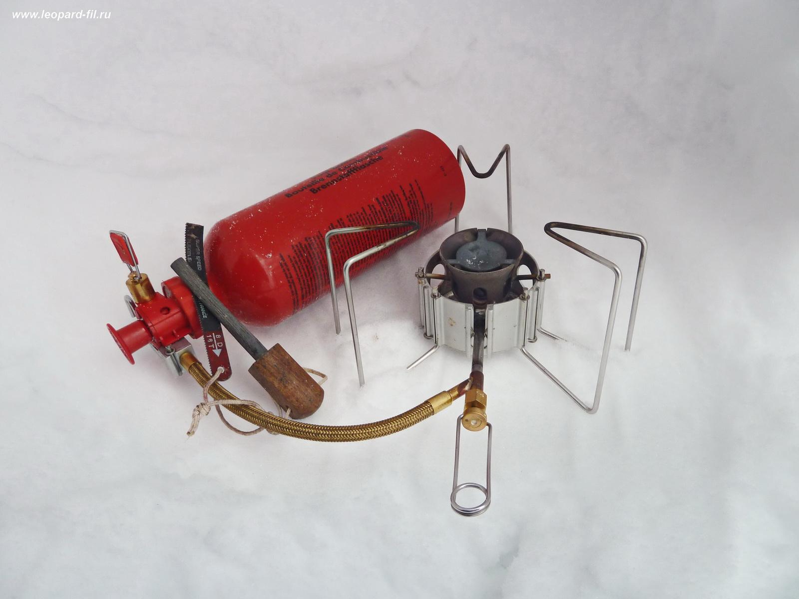 Веса бензиновых горелок и  их работе при низких температурах