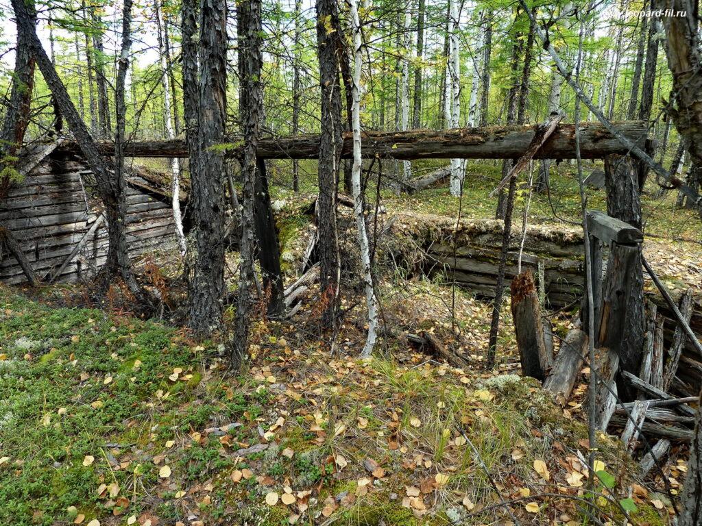 Лагерь на протоках реки Средний Сакукан