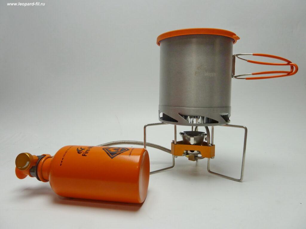 Подробный обзор (отзыв) бензиновой горелки Fire-Marple Turbo FMS-F5 (Tramp-TRG-050).